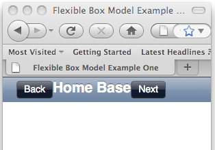 Firefox having problems implementing the flexible box model