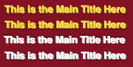 3D Text Using CSS3 Text Shadows on Firefox