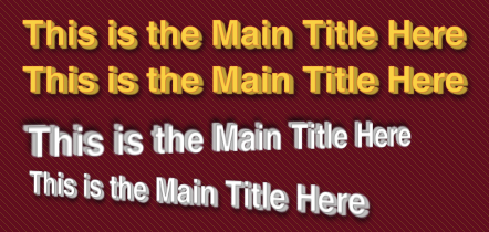 3D Text Create with CSS3 Text Shadows