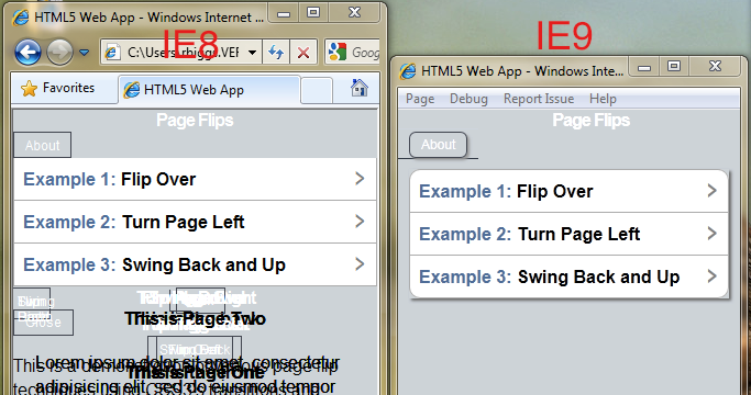 IE8 and IE9